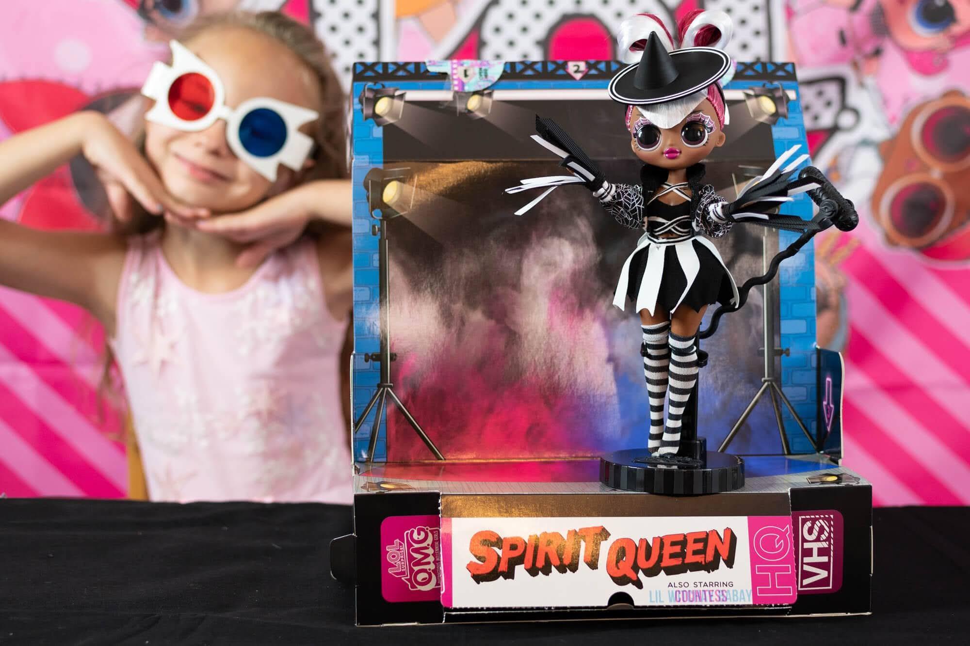lol doll movie start spirit queen