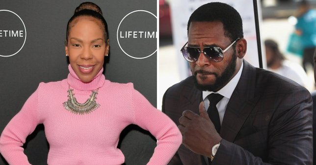 R Kelly's lawyers have requested the singer's ex-wife Andrea be jailed and fined for 'breaking a confidentiality agreement' against him.