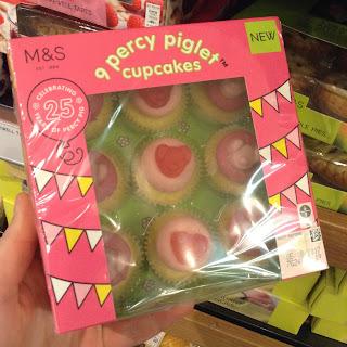M&S Percy Piglet Cupcakes