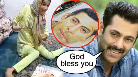 Salman Khan Shared A Heart Melting Video Of A Fan Check Out