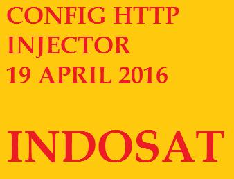 Config Http Injector Indosat 19 April 2016