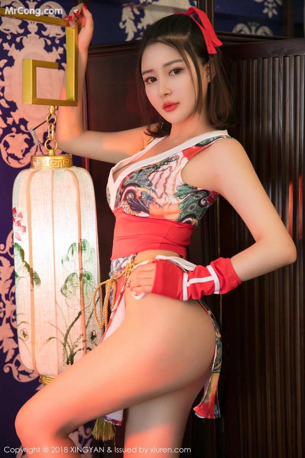 Image XingYan-Vol.028-MrCong.com-004 in post XingYan Vol.028: Người mẫu 廿十 (41 ảnh)