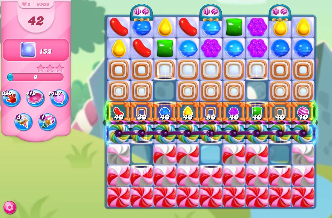 Candy Crush Saga level 9508
