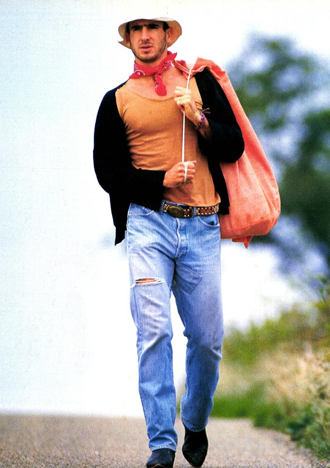 SO FASHION. Eric Cantona.