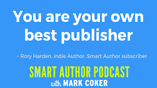 "image reads:  ""You are your own best publisher"""