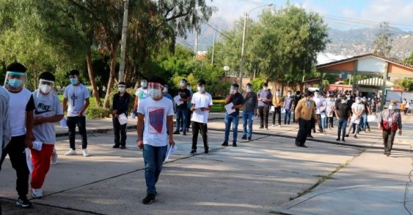 UNSCH: Más de una decena de postulantes no rindieron examen de admisión a la Universidad Nacional de San Cristóbal de Huamanga