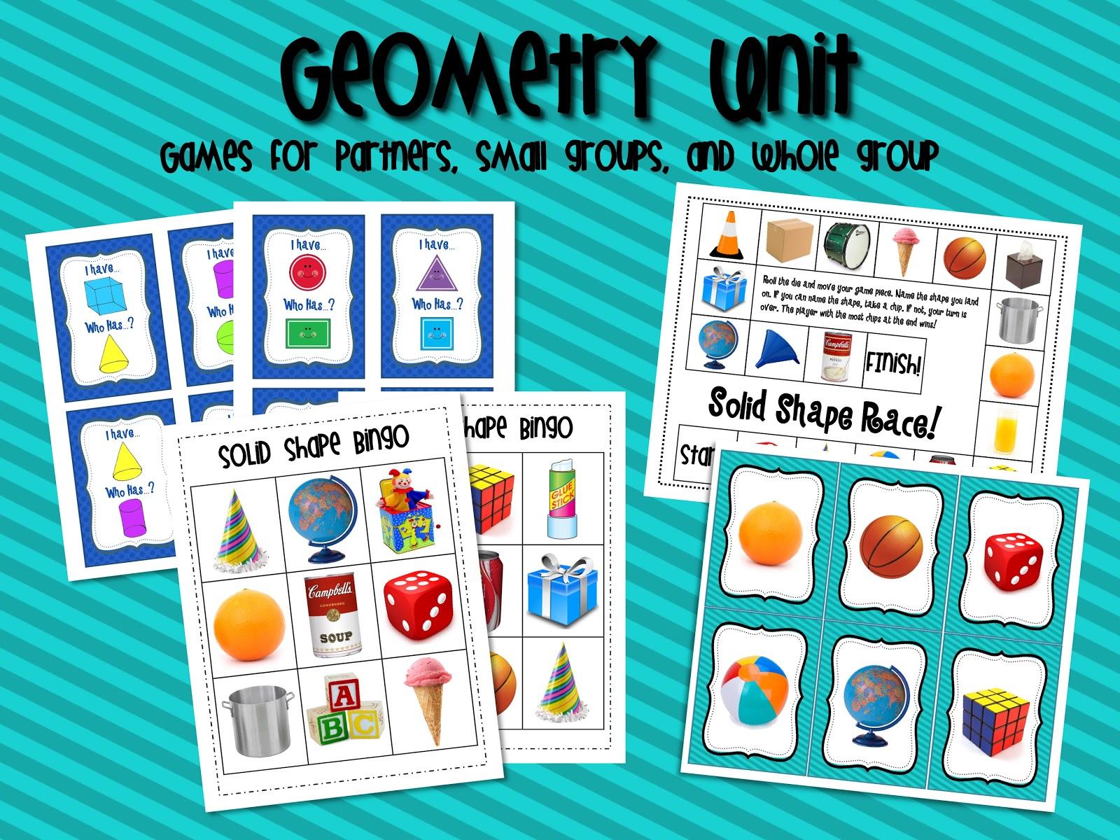 Mrs Ricca S Kindergarten Solid Shapes Geometry Unit
