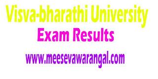 Visva Bharati B.A/B.Sc/B.Des/B.F.A 2016 Exam Results
