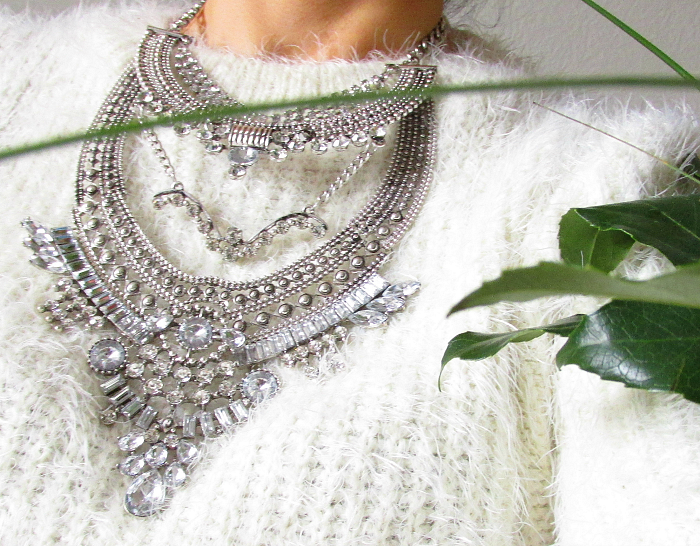 Glamorous Over The Top Statement Necklace  - Happiness Boutique & Rabatt Code