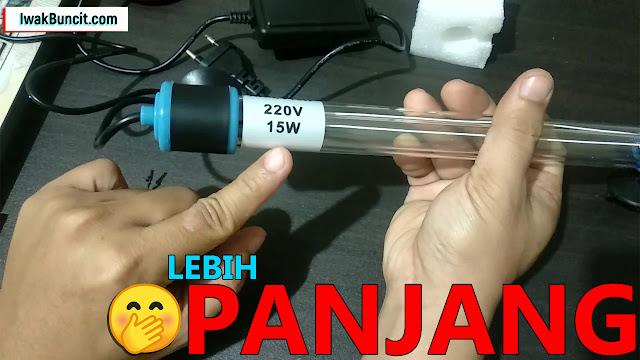Bening Lebih Cepat: Review Recent AA UV15W - Lampu UV yang Cocok untuk Aquarium Ukuran 150 cm Lebih