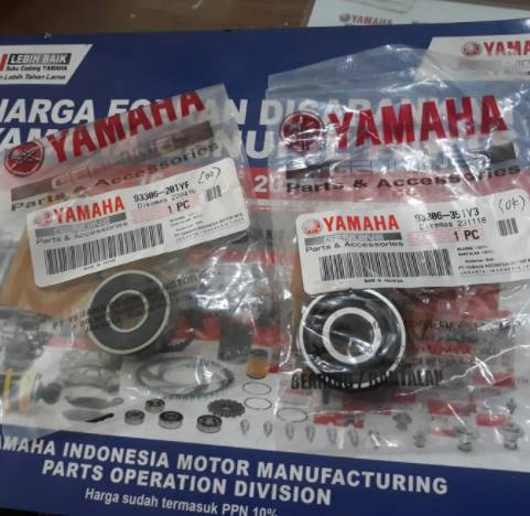 Ukuran Bearing Roda Depan Motor Vixion, Beda-Beda Sob !!!