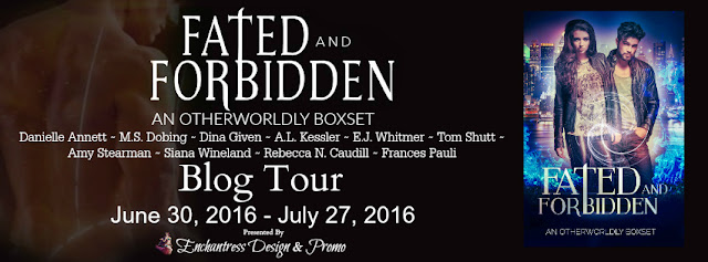 Fated and Forbidden Blog Tour – Excerpt & Giveaway
