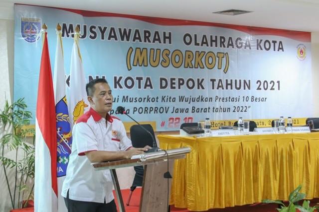 Heri Suprianto Ketua Koni Depok Periode 2021-2025
