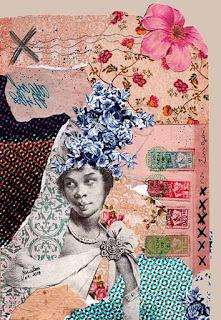 Colagem Nzinga por Maria Rosa