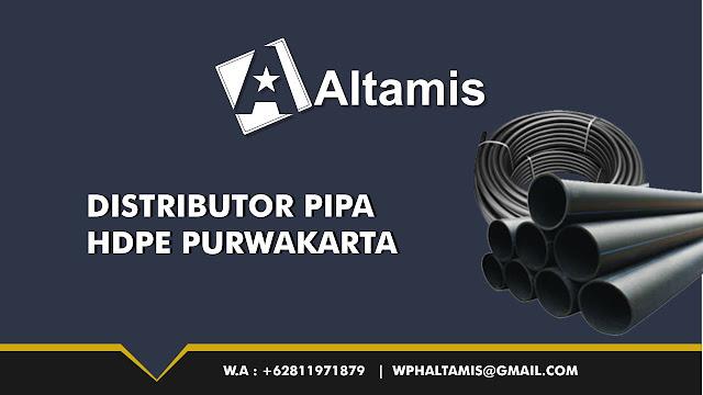 Distributor Jual Pipa HDPE di Purwakarta