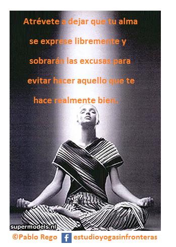 Atrévete a dejar que tu alma se exprese libremente