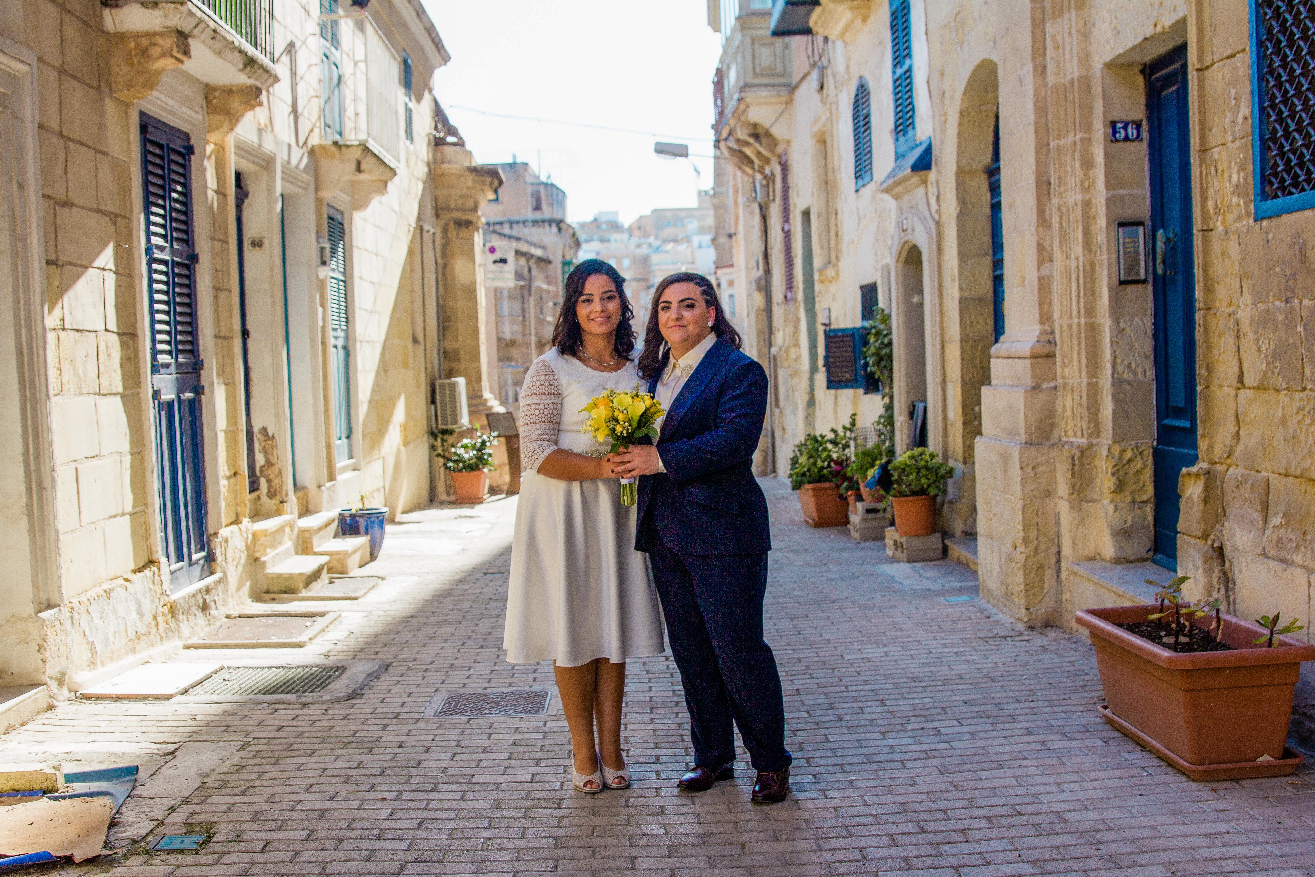 Wedding in Valletta