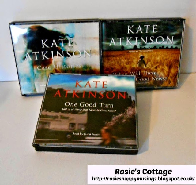 Kate Atkinson's Jackson Brodie novels read by the wonderful Jason Isaacs
