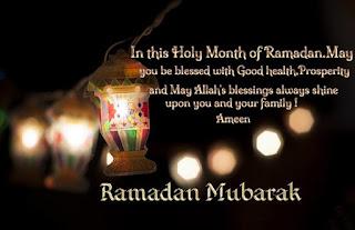 Happy Ramadan Mubarak Greetings Cards