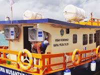 10 Bulan Berlabuh Di Dermaga Maccini Baji, Kapal Pelra Pangkep Akan Dioperasikan