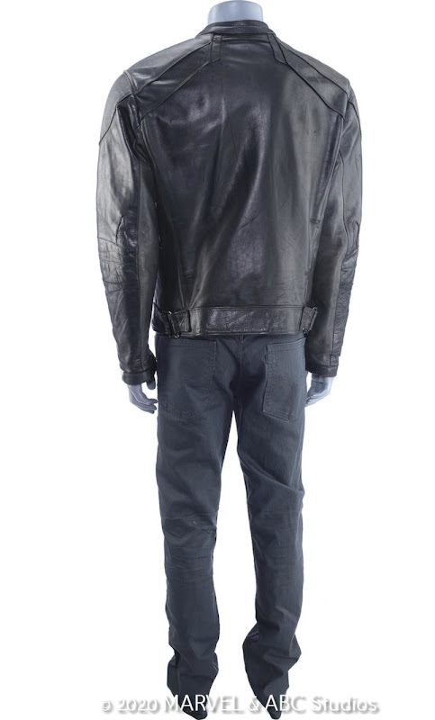 Robbie Reyes Agents of SHIELD Ghost Rider costume back
