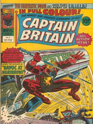 Marvel UK, Captain Britain #6, the Hurricane