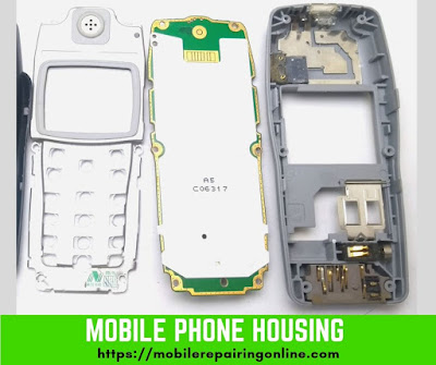 Mobile phone Housing is made of special plastic reduces creating ESD Electrostatic discharge