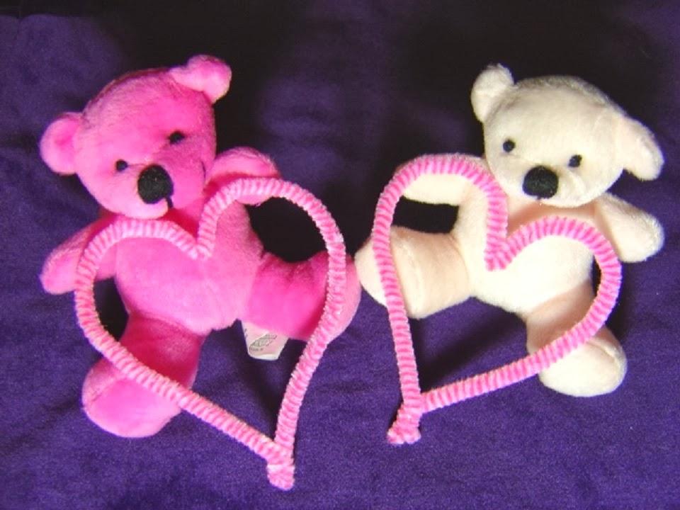 Wallpaper Autumn: Pink Teddy Bear HD Wallpapers Free Download