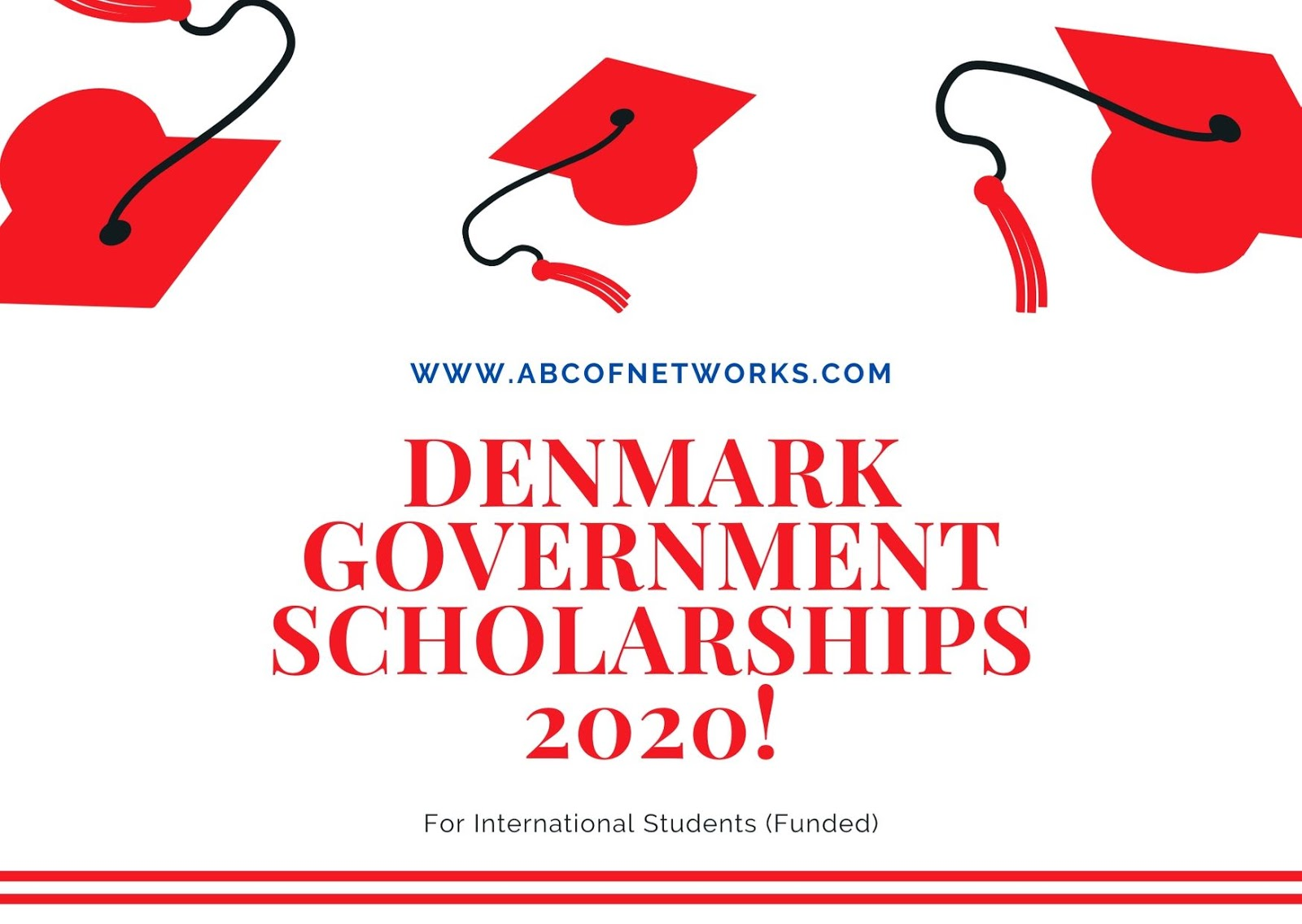 fully funded the Denmark Government Scholarship 2020