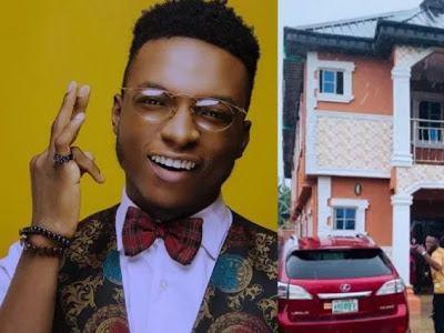 ENTERTAINMENT NEWS: Dj Kaywise Fresh New house – Latest landlord in Lagos (See Photo)