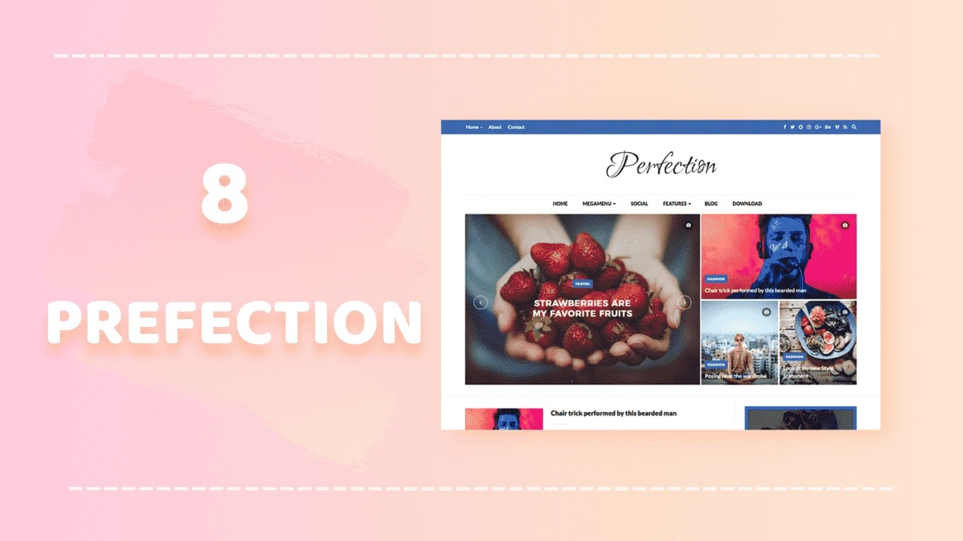 Perfect Blogger Template