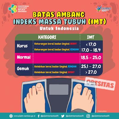 Kategori BMI Menurut Kementerian Kesehatan