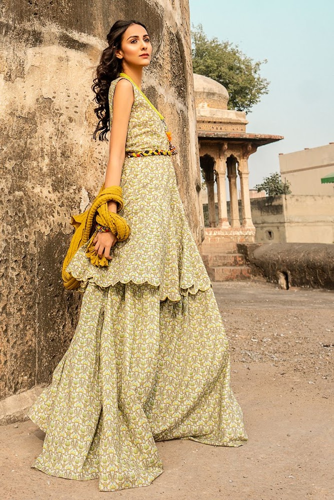 Gul Ahmed Vintage Garden Lawn Summer collection