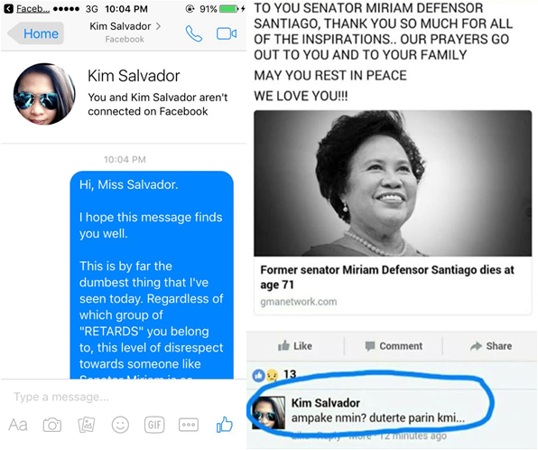 VIRAL: Netizen's Savage Reply To Disrespectful Comment On Santiago's Death!