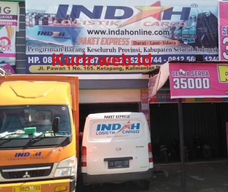Agen Indah Logistik Cargo di Ketapang