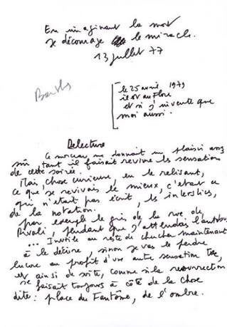 Surat Blanche Monnier