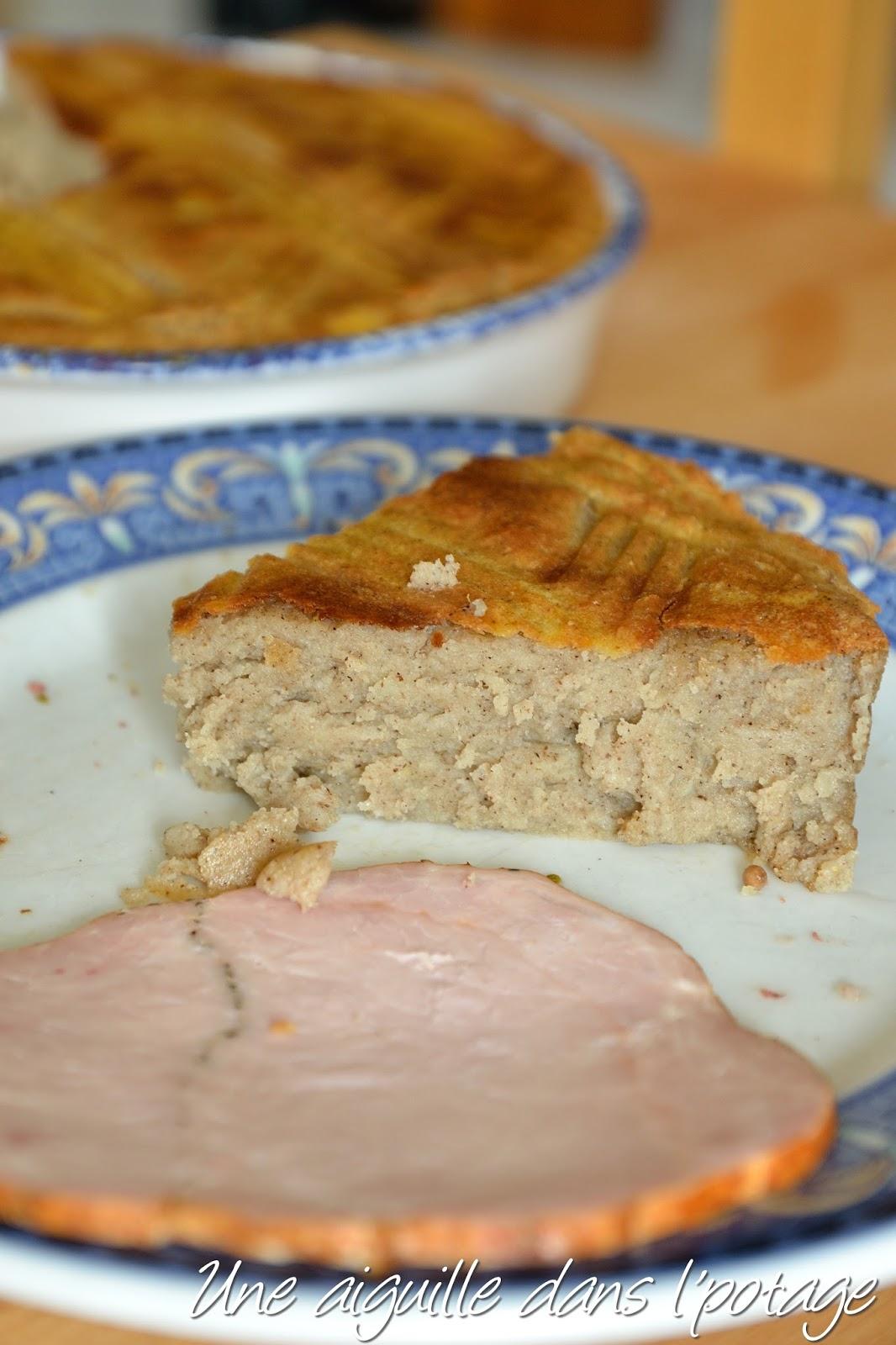 Gateau de pommes de terre breton
