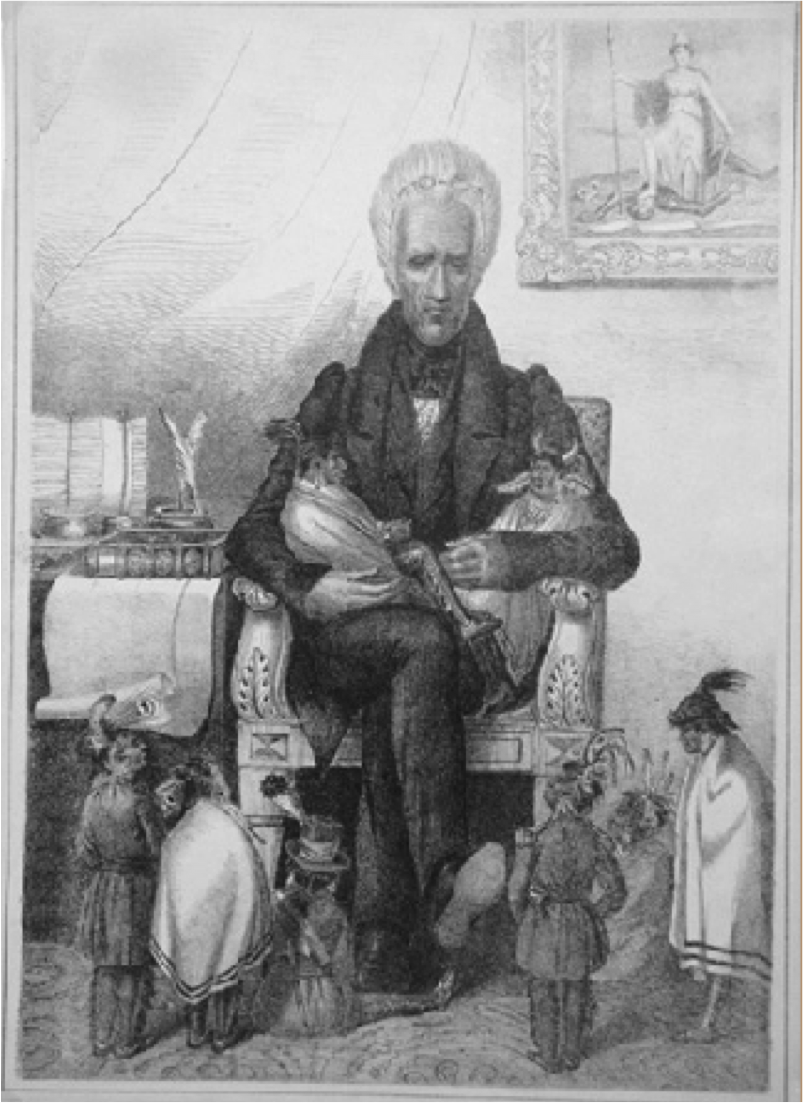 andrew jackson as well as indians