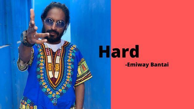 HARD Lyrics Emiway Song Download