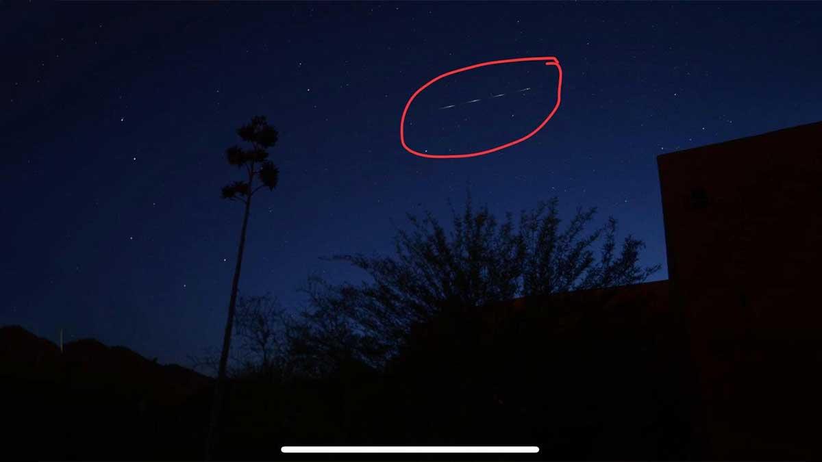 شاهد صورة لحطام الصاروخ الصيني قبل سقوطه على الأرض