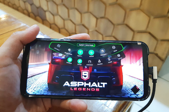 Xiaomi Black Shark 2, Main Game Rata Kanan Semua