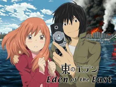 جميع حلقات انمي Higashi no Eden مترجمة