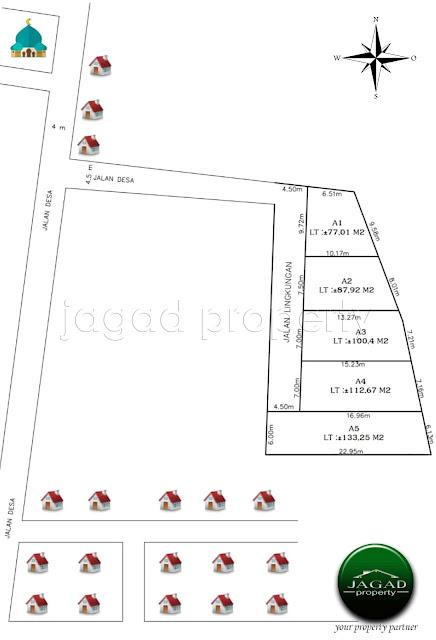 Tanah Kavling jalan Wates Km 11