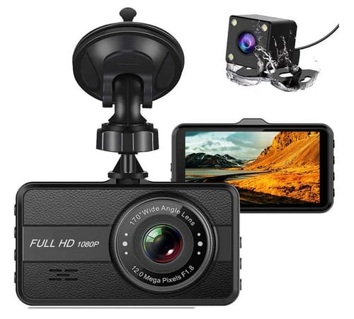 T-View Q10S FHD Dual Dash Cam Car Camera