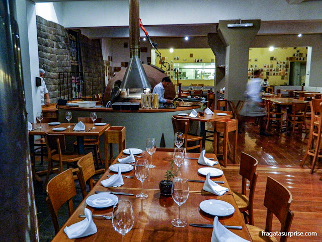 Restaurante Incanto, em Cusco, Peru