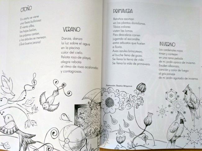 Poesía Alada: estaciones