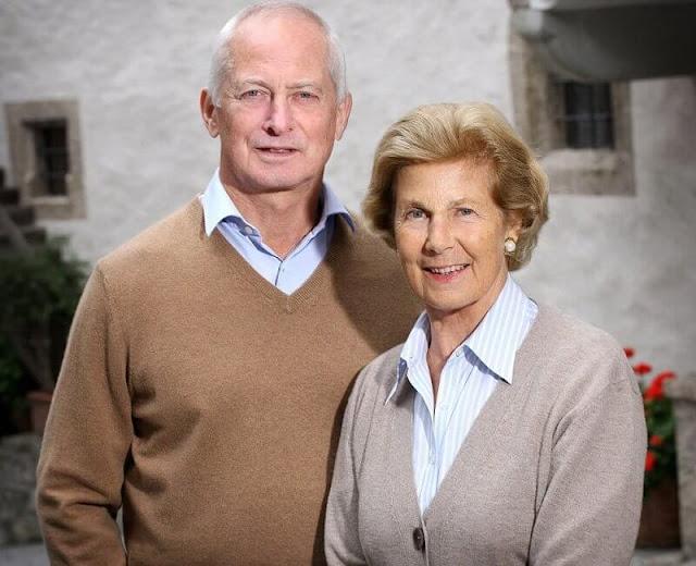 Princess Marie was the wife of the reigning Prince of Liechtenstein, Hans-Adam II. Their son, Alois, Hereditary Prince of Liechtenstein