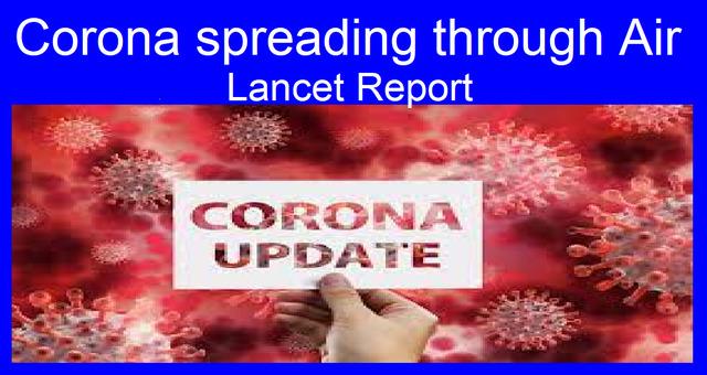 Corona spreading through Air Lancet New Report Latest News Covid 19 Latest Update World Health Organization News Vision Hindi Samachar India video