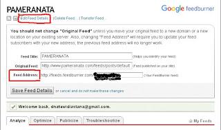 membuat widget pengikut email