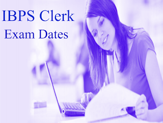 IBPS Clerk Exam Dates 2015 – Preliminary & mains